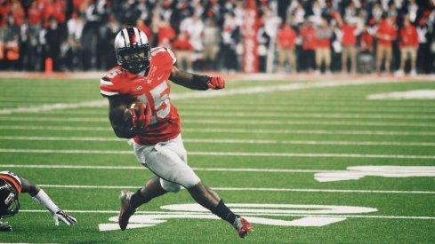 Ezekiel Elliott finds the end zone against Virginia Tech