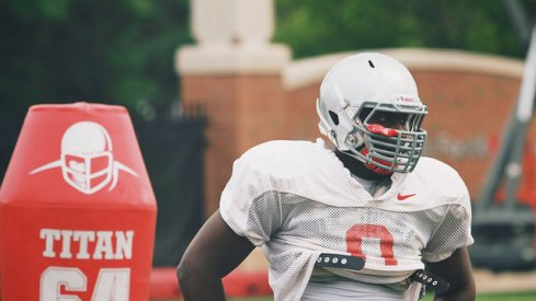 """Urban Meyer said Noah Spence's status with Ohio State remains """"undefined."""""""