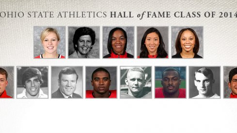 2013 Ohio State Athletics Hall of Fame Induction Class
