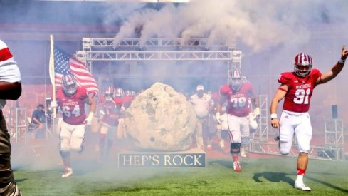 Indiana couldn't defend Hep's Rock against Maryland.