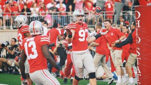 Joey Bosa movin' that dope vs. Cincinnati