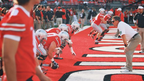 Ohio State's offensive line is showing strides.