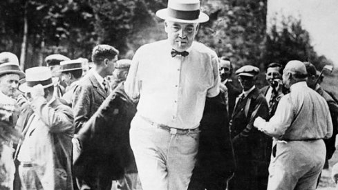 Warren G. Harding, fag dangling off his lips, removes his smoking jacket and prepares to get down to brass tacks.