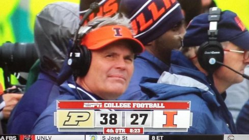 Tim Beckman will soon know the joys of real estate selling.