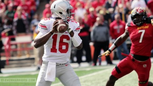 J.T. Barrett has thrown for 14 TDs against just one pick in his last three games.