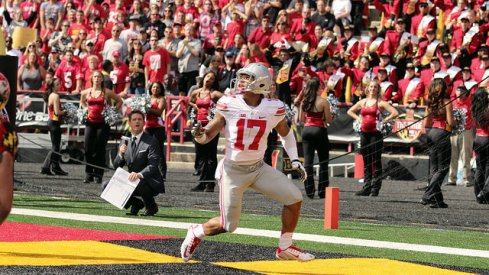 Jalin Marshall is one of the many players behind Ohio State's offensive eruption.