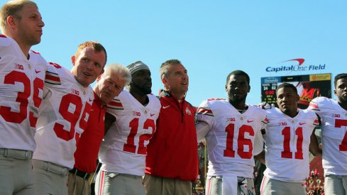 Ohio State and a surging offense blasted Maryland in College Park Saturday.
