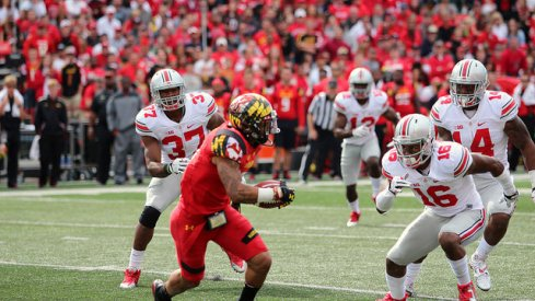 """Ohio State's defense shut down Maryland and looked like the """"overhauled"""" unit it talked of during the preseason."""