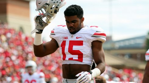 A combination of Ezekiel Elliott and an improving offensive line has kindled a rebirth in Ohio State's run game.