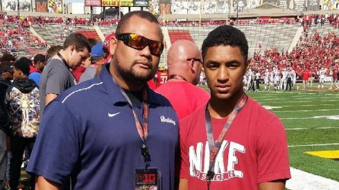 John Harris and Ricky Slade, Jr. at Maryland.