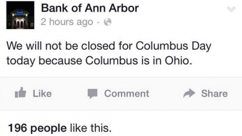 Fair play, Bank of Ann Arbor