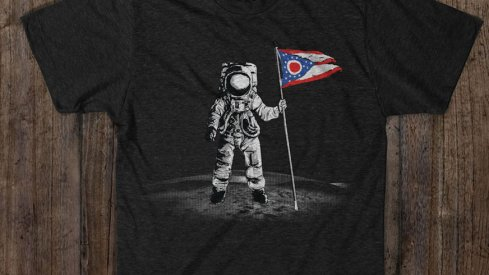 "Get your ""That's Ohio's Moon"" t-shirt at Eleven Warriors Dry Goods"