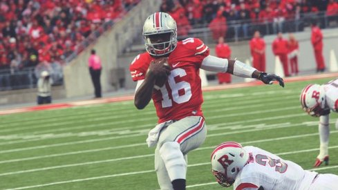 Barrett ran for a career high 107 yards on just seven carries with 2 TD.
