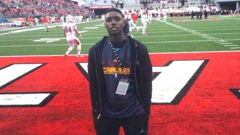 Daquan Bracey visits Ohio State