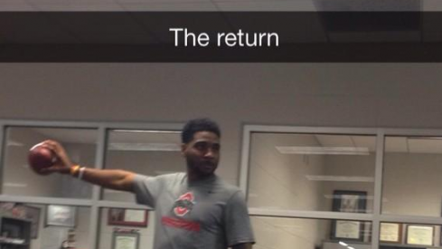 Braxton Miller is comin' for y'all