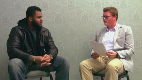Michael Bennett interviewed by Scarlet and Gray Sports Radio's Brandon Beam