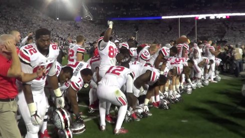 Ohio State survived Penn State in thrilling fashion Saturday night.