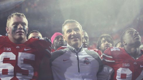 "Urban Meyer said he's paying ""zero attention"" to an unfolding national picture."
