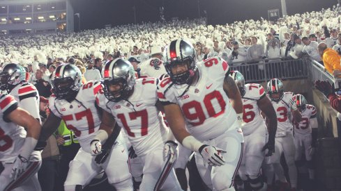 Ohio state must first play Illinois before it plays Michigan State.