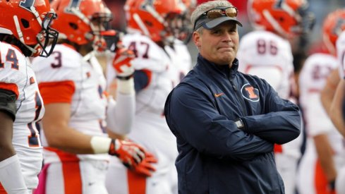 Can Tim Beckman and the Illini keep their momentum alive this week in the 'shoe?