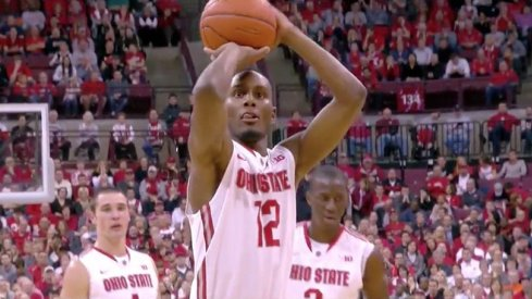 Sam Thompson is a senior for the Buckeyes.
