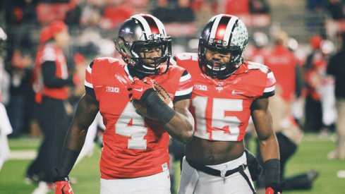 Ohio State freshman running back Curtis Samuel started over Ezekiel Elliott in a blowout of Illinois Saturday night. He made the most of it.