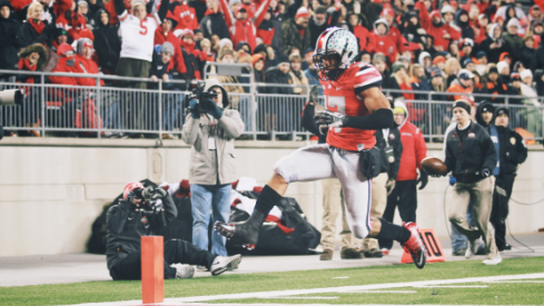 Jalin Marshall found the end zone against Illinois.