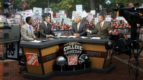 As expected, ESPN's College GameDay is heading to East Lansing next weekend for a massive game between Ohio State and Michigan State.