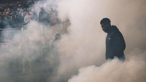 Braxton Miller.... through the smoke