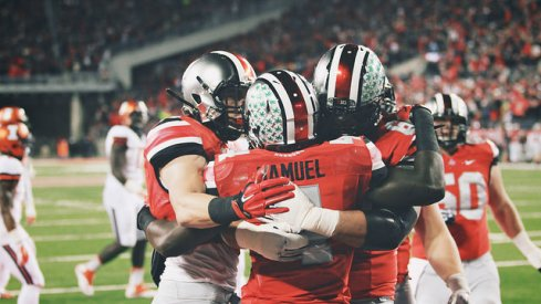 Ezekiel Elliott is Ohio State's best running back, but Curtis Samuel offers the Buckeyes a pretty solid backup plan.