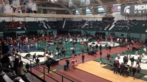 Four Ohio State wrestlers captured championships at Sunday's Michigan State Open
