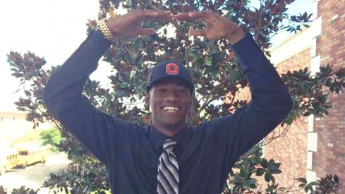 Torrance Gibson is all smiles