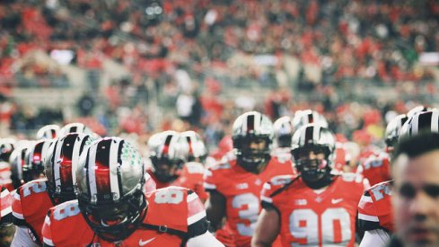 Ohio State's season could come down to a massive game with Michigan State Saturday. Urban Meyer said it's the type of moment the Buckeyes train for.