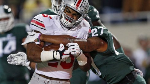 Ohio State talked of playing with a massive chip on its shoulder and it showed Saturday night.