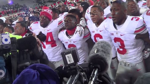 Ohio State danced the night away after toppling Michigan State.