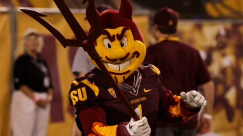Sparky had a great day against Notre Dame.
