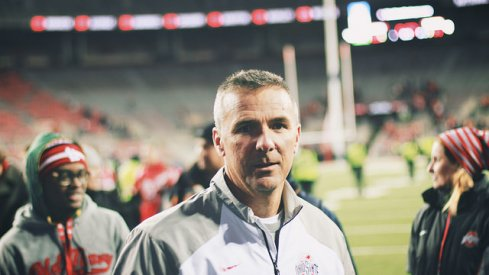 With a trip to cold and snowy Minnesota approaching, Ohio State head coach Urban Meyer addressed the Golden Gophers, the latest playoff rankings and injuries.
