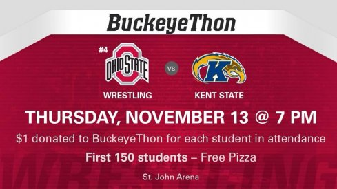Ohio State wrestling faces Kent State Thursday night.