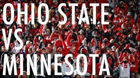 Ohio State vs. Minnesota on Saturday.