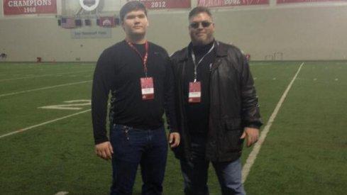 Drake Jackson Visiting Ohio State