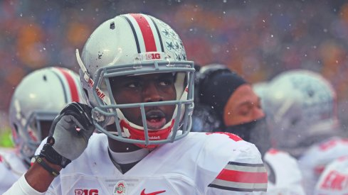 J.T. Barrett had four touchdowns against Minnesota.