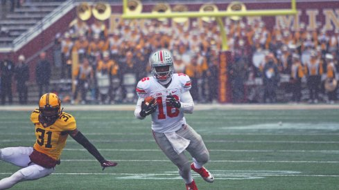 J.T. Barrett's legs helped carry Ohio State to victory over Minnesota