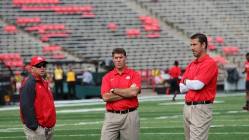Marionaire Tim Hinton, Chris Ash, and Luke Fickell