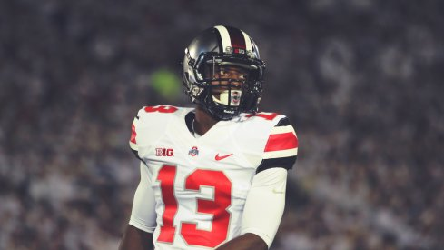 Eli Apple is playing his best football for Ohio State right now.