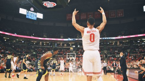 D'Angelo Russell and the Buckeyes knocked off Marquette Tuesday night in Columbus.