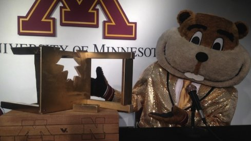 The Big Ten's newest trophy is its funniest.