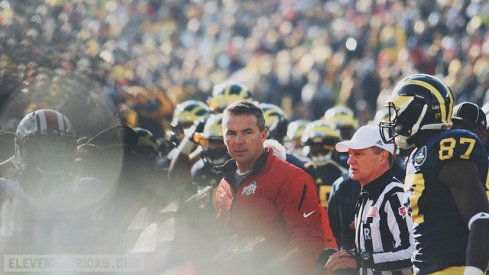 "Urban Meyer's affinity for playing LL Cool J's ""It's Time For War"" on an endless loop during Michigan Week is with purpose."