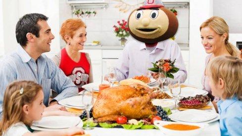 Happy Thanksgiving, Buckeye fans!