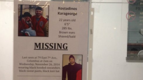 Kosta Karageorge has been missing since early Wednesday morning.