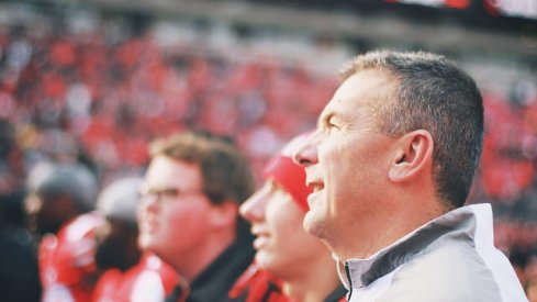 Urban Meyer talked moving on without J.T. Barrett, the Big Ten Championship Game against Wisconsin, and the tragic situation involving Kosta Karageorge.
